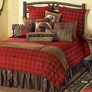 Amazon.com: Gunnison Plaid Bed Set - King - CLEARANCE: Home & Kitchen