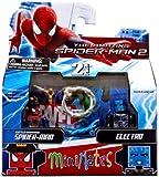Marvel Minimates Series 56 Mini-Figure Battle-Damaged Spider-Man with Electro