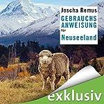 Gebrauchsanweisung für Neuseeland | Joscha Remus