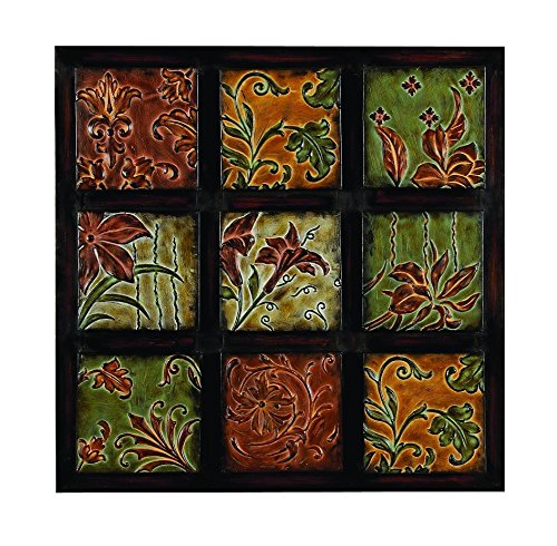 Abstract Metal Framed Art An Antique Living, Family Dining Room Decor 99207 front-517473