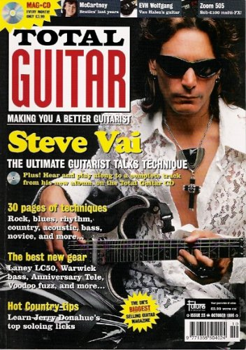 total-guitar-magazine-with-cd-23-features-kenny-wayne-shepherd-the-levellers-keb-mo-steve-vai-pink-f