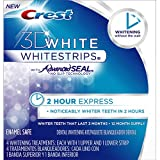 Crest 3D White Whitestrips, 2 Hour Express