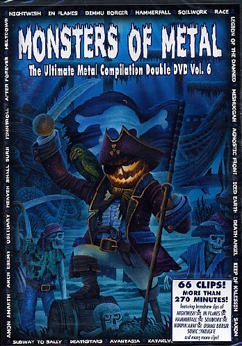 Monsters Of Metal 6 (2 Dvd)
