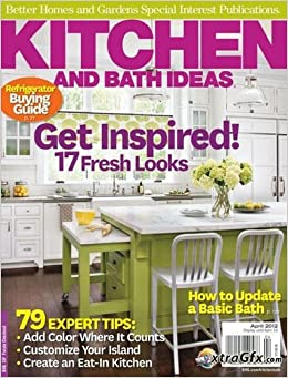Better homes and gardens special interest magazine for Better homes and gardens kitchen and bath ideas february 2012