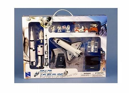Coffret Espace Maquette Fusée Saturn V Apollo 11 Module Lunaire Navette Spatiale