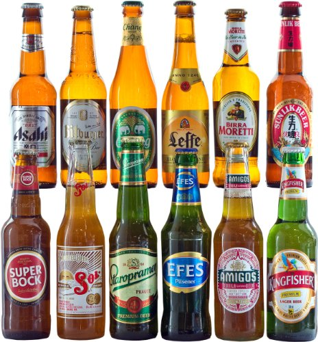 12 Best of World Beers Hamper with Free Delivery