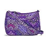 (ヴェラブラッドリー)vera bradley Little Crossbody 15455 キルティング ショルダーバッグ メール便発送 [並行輸入品] (669/Lilac Tapestry)