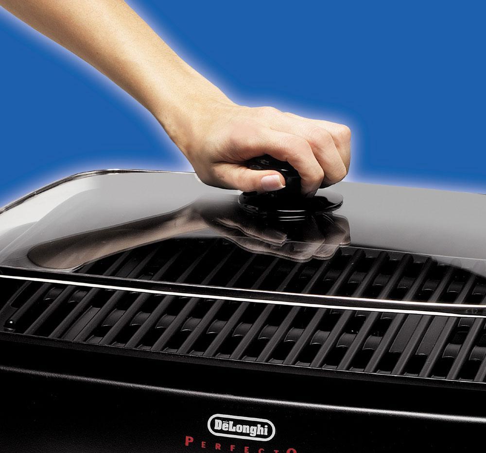 Delonghi Indoor Electric Grill ~ Bg delonghi perfecto indoor healthy grill at abt
