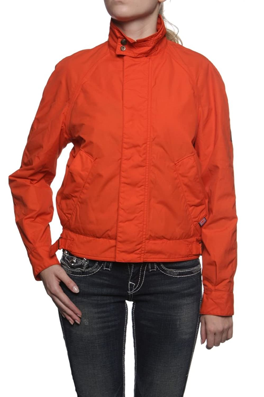 Belstaff Damen Jacke Blouson-Jacke SCOOTER, Farbe: Dunkelorange