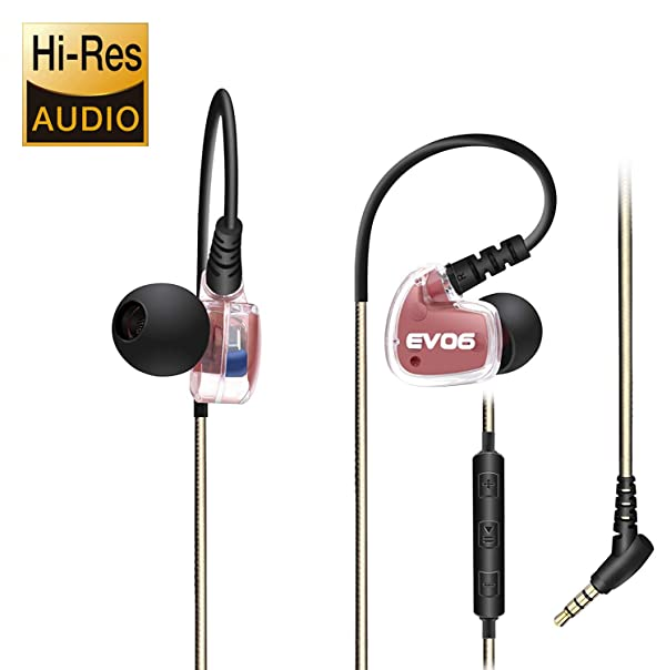 Earbuds Ear Buds in Ear Headphones Wired Earphones with Microphone Mic Stereo and Volume Control Waterproof Wired Earphone Compatible with Mp3 Players