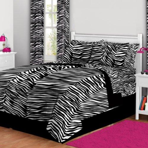 Zebra Print Bedding Twin front-161879