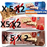 Kellogg's Special K Biscuit Moments variety pack 30 Cnt each 25gm servings 750gm