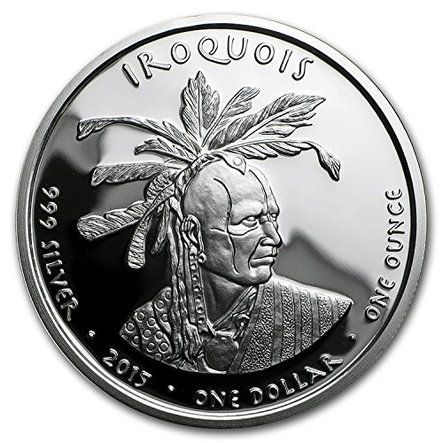 2015 1 oz Silver Proof State Dollars Pennsylvania Iroquois 1 OZ Brilliant Uncirculated (Apmex compare prices)