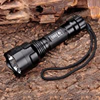 TrustFire XML C8-T6 5-Mode CREE LED 1000 Lumen Flashlight from KinFire