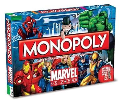 juego de mesa Marvel