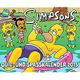 Simpsons Abreißkalender 2015: 2015 Quiz- und Spaßkalender