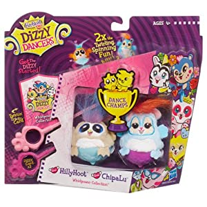 Furreal Friends Dizzy Dancers Dance Champs 2pk - OWL AND CHIPMUNK PACK