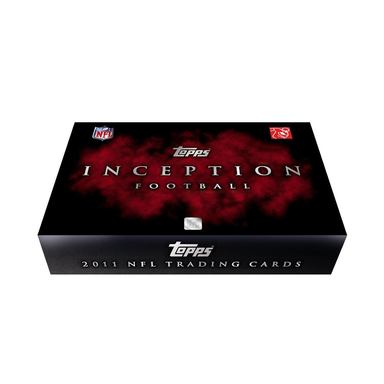 2011 Topps Inception Football Hobby Box NFL