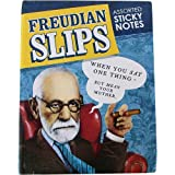 Freudian Slips Sticky Notes in Booklet, Humorous Designs