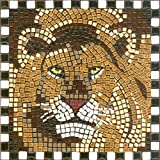 Mosaic Kit 7 Square, 20x20cm, Lion