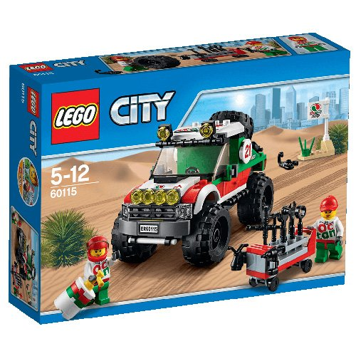LEGO City Great Vehicles 60115 - Fuoristrada 4 X 4