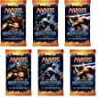 2 Player Booster Draft Set: Magic the Gathering MTG - M14 Core Set 2014 Booster Packs (6 Packs)