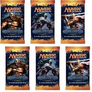 2 Player Booster Draft Set: Magic the Gathering MTG - M14 Core Set 2014 Booster Packs (6 Packs)