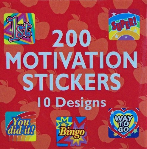 200 Motivational Stickers - 1