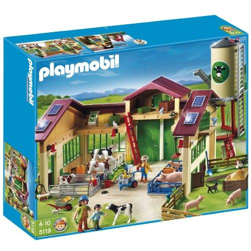 Playmobil 5119 Barn with Silo