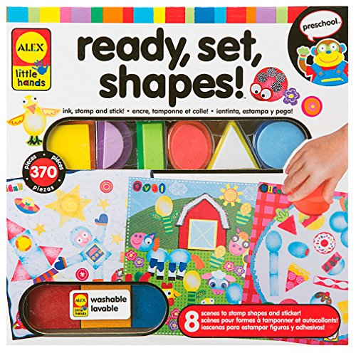 ALEX Toys Little Hands Ready, Set, Shapes