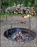 Quad Pod Campfire Grill