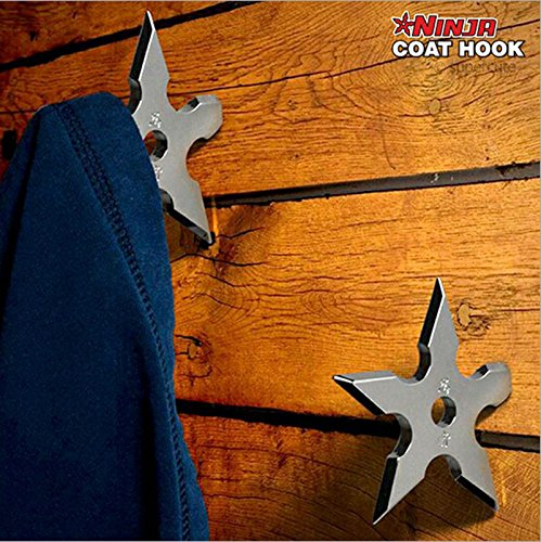 ASSIS 2pcs Stainless Steel Coat Hooks - Creative Darts Wall Hook Wall Decoration (Cool Hat Racks compare prices)