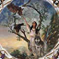 Mystic Dreams Dreamcatcher Wall Decor With Exclusive Russ Docken Artwork by The Bradford Exchange