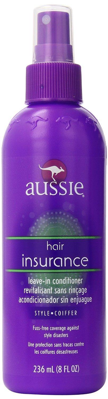 Amazon.com : Aussie 8 oz Aussie Hair Insurance Leave-In Conditiner ...
