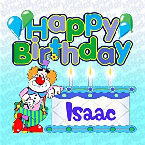 Happy Birthday Isaac - Personalised Party CD by Various: Amazon.co.uk ...: www.amazon.co.uk/Happy-Birthday-Isaac-Personalised-Party/dp/B001DIB5LG