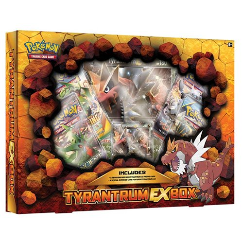 Tyrantrum Pokemon Card box