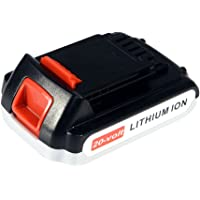 2 Pack Black & Decker LBXR20-OPE2 20 Volt Lithium Ion Cordless Battery