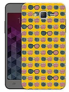 "Humor Gang America GlassesPrinted Designer Mobile Back Cover For ""Samsung Galaxy On7"" (3D, Matte, Premium Quality Snap On Case)..."