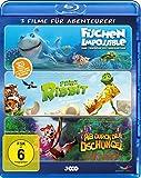DVD Cover 'Abenteurer-Box - Fischen Impossible/Prinz Ribbit/Ab durch den Dschungel [3D Blu-ray]