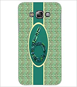 PrintDhaba Numerology Number 6 D-2716 Back Case Cover for SAMSUNG GALAXY A7 (Multi-Coloured)