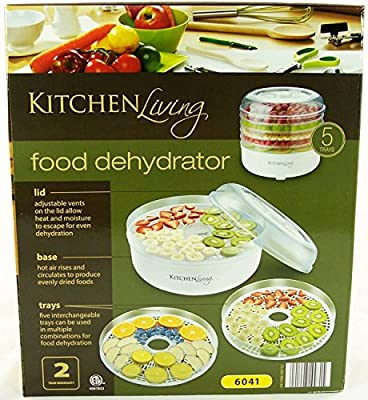 Kitchen Living 5 Tray Electric Food Dehydrator from Kitchen Living
