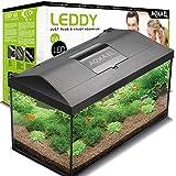 Aquael Aquarium Set LEDDY LED 40, 25 Liter komplett Aquarium mit moderner LED Technik