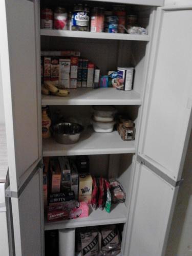 Sterilite 01428501 4 Shelf Utility Cabinet With Putty