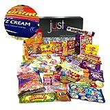 The Best Ever Retro Sweets MEGA Treasure Box + Chocolate Bars Pack (The Original Sweet Shop in a Box!)