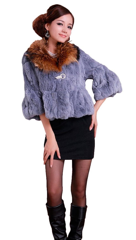 Queenshiny Damen Jacke braun jetzt kaufen