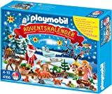 Ideen fü Weihnachtsgeschenke Spielen und Weihnachten - PLAYMOBIL 4166 - Adventskalender Weihnacht der Waldtiere