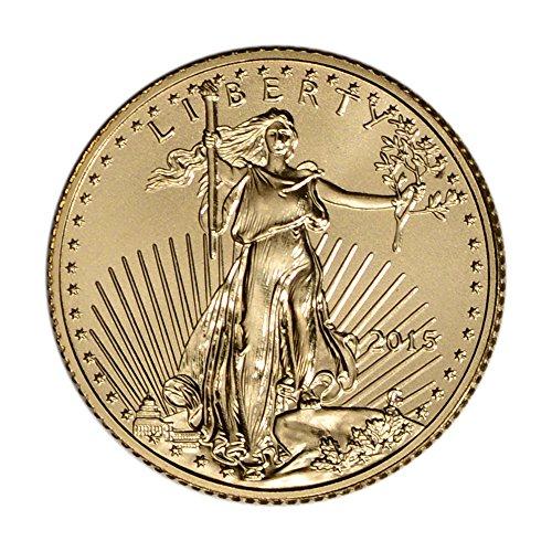 2015 American Gold Eagle (1/10 oz) $5 BU U.S. Mint
