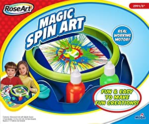 Spin Art Machine Rose Art by Mega Brands