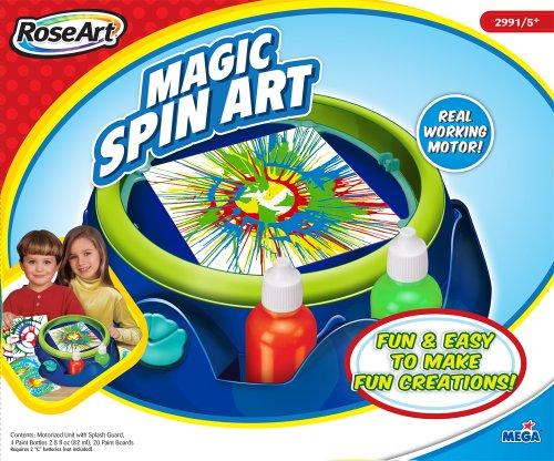 Spin Art Machine Rose Art By Mega Brands