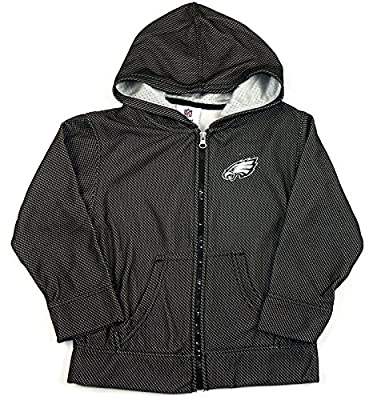 Philadelphia Eagles NFL Kids Full Zip Performance Hoodie